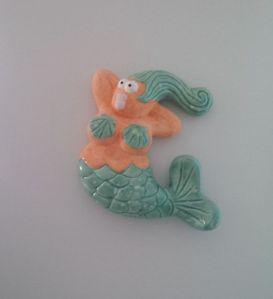 moulded mermaid