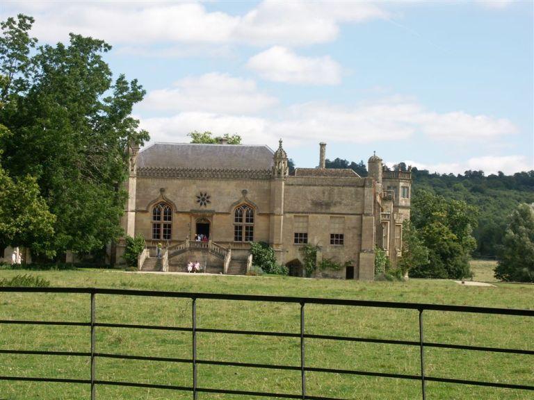 Lacock Abbey in Wiltshire