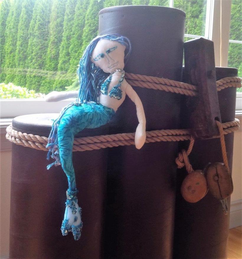 rag doll mermaid