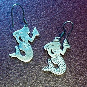 Mexican sirena earrings