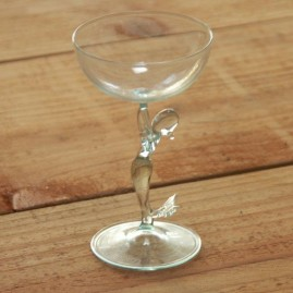 mermaid glass stem